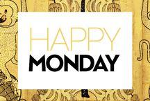 #HappyMonday / ¡Amamos los lunes porque siempre trae cosas buenas y nuevas!
