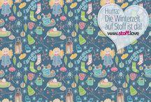 Winter - Stoffe / Eine kleine Auswahl an winterlichen Stoffen in Deinen Lieblingsfarben ab 11,99€ erhältlich. Eine rieisige Auswahl wartet auf Dich. Komm stöbern ::: www.stoff.love :::