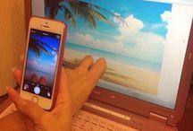 offline photo manipulation