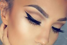 WOMAN , MAKE-UP, HAIRSTYLE / Beautiful woman, makeup and hairstyle