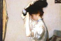 Edwardian shirtwaist costumes / 1900s shirtwaist costumes, blouses, wool dresses and jackets