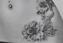 Belly tattoo