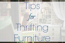 Furniture thrifting