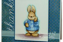 Docrafts Country Companions - Rabbit