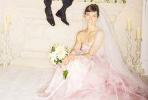 Blush & Pink Wedding Dresses