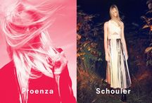 Spring 2014 Ad Campaign / Proenza Schouler Spring 2014 Ad Campaign Featuring Model Charlotte Lindvig by David Sims