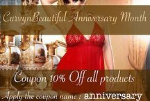Free shipping and 10% off / Happy Birthday curvynbeautiful.com ! Get 10% Off on all orders and free shipping