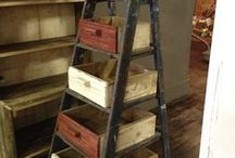Ladders for retail stores