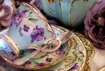 Porselen çay kahve setleri