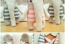 elefantes crochet