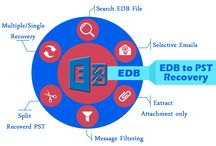 Export EDB to PST / For getting the emails from exchange file you can use EDB file Recovery Software that works on all exchange file versions upto 2013 to repair corrupted exchange file to PST outlook file with email properties and attachments. Software perfectly open Exchange EDB File in safely manner.  Visit Here ;- http://www.exportedbtopst.com/