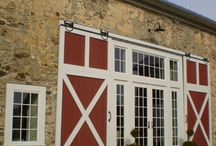 Restored Old Barns - Exterior Entryways