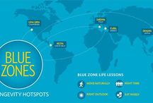 Blue Zones / Five regions around the world promoting health and happiness