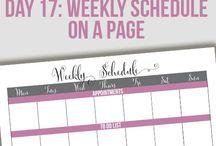 Get Organized / by Deborah Vahle