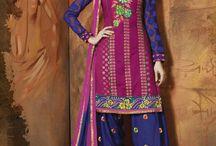 Salwar-Kameez Fashions / Superb Collection of latest arrival #Salwar #Kameez,Visit store: http://www.jaipurkurti.com/printed-dress-material/heavy-dress-material-1.html