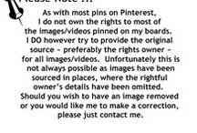 Pinterest Disclaimer / by A.E. Tyree