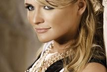 Love her... / Mostly Miranda Lambert, a lady who appears to be one of us, but also full of musical talent! There are also other ladies I admire with classic beauty and style. / by Alexis Bryce