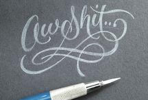Lettering & Calligraphy / Lettering & Calligraphy