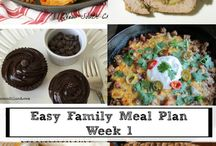 Meal Planning / Weekly menus, meal planning advice and recipes for freezer cooking to get your meal planning game on point!