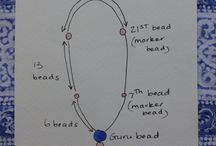 Mala bead necklaces