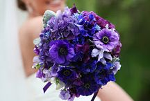 Purple& Fuchsia bouquets