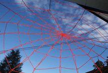 2014 - Contextart Webs - Korowal / Three webs installed at Contextart 2014