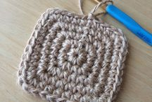 毛糸、コースター