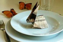 Papeterie / Origami, Papierkunst