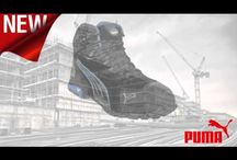 Puma Safety Shoes & Boots videos / Video montage of Puma Safety Range