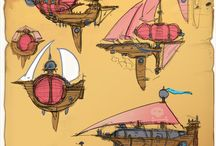 Steampunk Airship / Game
