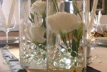 esküvői asztaldíszek