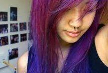 Shades of Purple / Purple hair colours