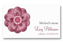 Business Cards : Mommy Cards / these are stylish ways to pass along important information to daycare centers, summer camps, day camps, nanny/sitters, grandparents and teachers - about your children ... they are business card size (so easy to store in wallets or stylish business card holders) and are pre-designed as templates. So, all you have to do is enter the information - add to the cart and purchase! (daddy's can use these cards too) ... some are from me and others are from other talented graphic designers/artists ...