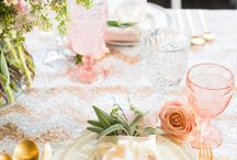rose gold wedding lookbook