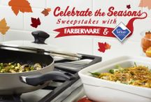 Celebrate the Seasons: Thanksgiving / From traditional Thanksgiving meal must-haves, to new and crowd-pleasing Thanksgiving favorites, find your easy entertaining holiday inspiration with Farberware® Cookware and Teflon®. / by Farberware Cookware