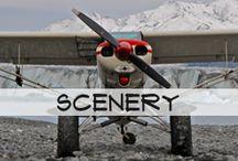 Scenery / Beautiful Alaskan Scenery as seen by Blue Ice Aviation.
