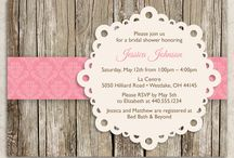 Bridal Shower/Bachelorette Party / by Becca Rose