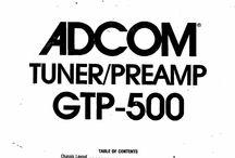 Adcom Service Manuals