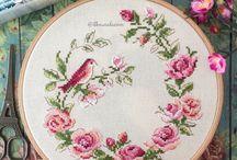 cross stitch, embroidery