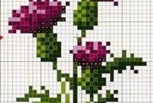Схемы для вышивки крестом /  Scheme for Cross Stitch