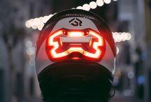 Light hjelm,smart ting's...