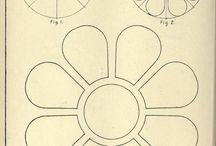 come disegnare sagoma fiore