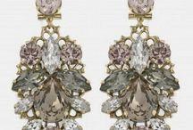 Baroque earings/pendientes barrocos / Be sparkling Brillarás como una estrella