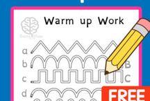 Warm Up Pencil Activities