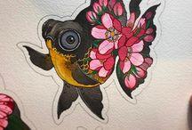 Fish tattoo