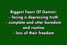 Gemini⚠ / Who cares cause I'm a Gemini