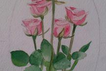 Saját munkáim / Akvarell munkák