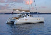 Catamarans in Croatia for charter