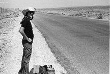 Hitchhiking shoot