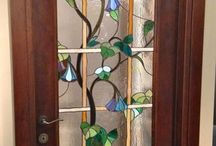 vetrata porta